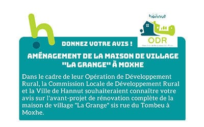 Donner votre avis – Maison de village «La Grange» à Moxhe