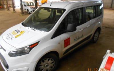 Vente d'un véhicule – FORD Tourneo Concept